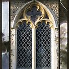 Old church window by KatDoodling