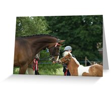 championship win.. Greeting Card