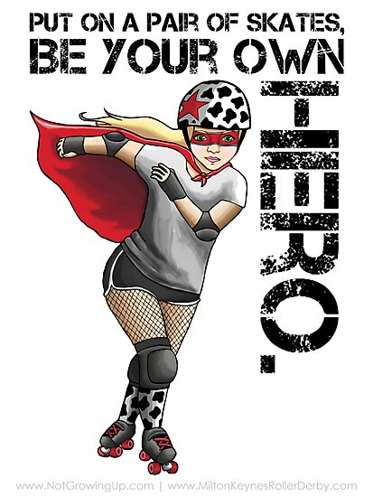 Be Your Own Hero by Jessica Morgan
