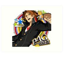 Persona 4 : Hanamura Yosuke Art Print