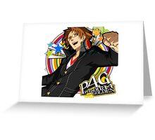 Persona 4 : Hanamura Yosuke Greeting Card