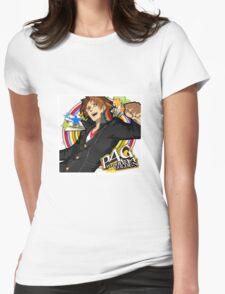 Persona 4 : Hanamura Yosuke Womens Fitted T-Shirt
