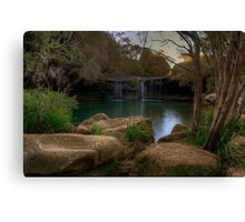 Afternoon delight at Nellies Glen. Canvas Print