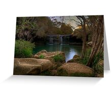 Afternoon delight at Nellies Glen. Greeting Card