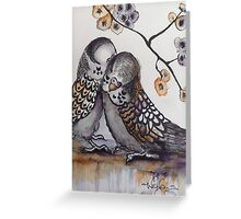 A little birdie told me! Greeting Card