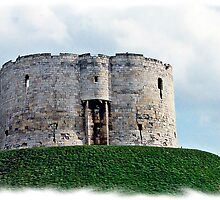 Round Tower York by Malcolm Chant