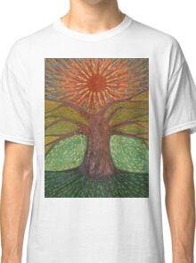 Sun And Tree Classic T-Shirt
