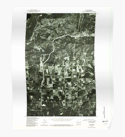 USGS Topo Map Washington State WA Elk 241005 1978 24000 Poster