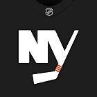 New York Islanders Alternate Jersey by Russ Jericho