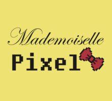 mademoiselle pixel Kids Tee