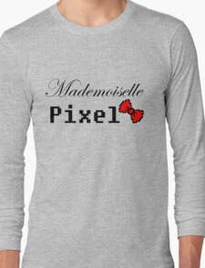 mademoiselle pixel Long Sleeve T-Shirt