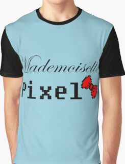 mademoiselle pixel Graphic T-Shirt