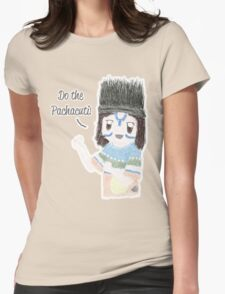 Pachacuti Cartoon design Womens Fitted T-Shirt