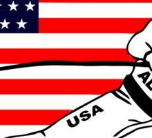 American Alpine Ski Sticker
