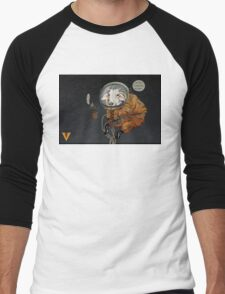 Cowstronaut Men's Baseball ¾ T-Shirt