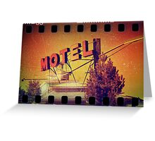 Motel Oscar Greeting Card