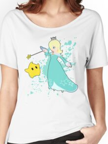 Rosalina and Luma - Super Smash Bros Women's Relaxed Fit T-Shirt