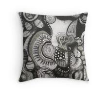 Black & White Ensemble Throw Pillow
