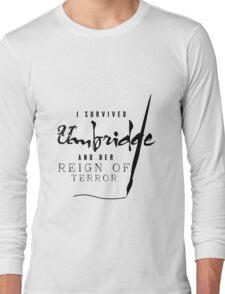 I Survived Umbridge... Long Sleeve T-Shirt