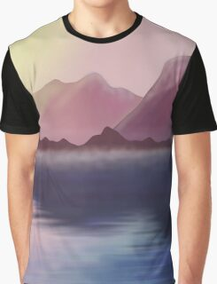 morning lake Graphic T-Shirt