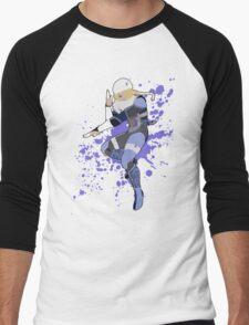 Sheik - Super Smash Bros Men's Baseball ¾ T-Shirt