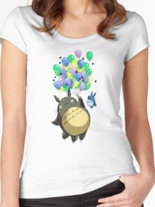 Baloons Women's Fitted Scoop T-Shirt
