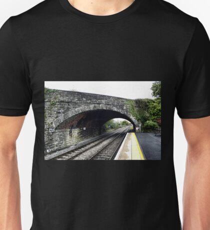 Railway Bridge ....Axminster Devon UK Unisex T-Shirt