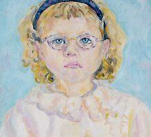 Katya's portrait by Nataliya Stoyanova