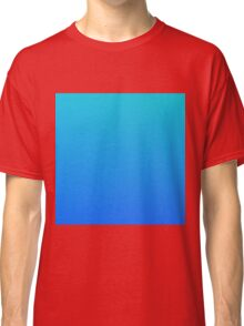 TOTAL BLUE - Plain Color iPhone Case and Other Prints Classic T-Shirt