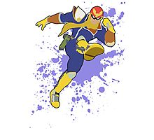 Captain Falcon - Super Smash Bros Photographic Print
