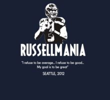 Russell Wilson - Seattle Seahawks, 2012 II by Benners