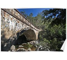 Crystal Creek Bridge, Far Nth QLD Poster