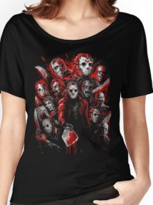 Jason Voorhees (Many faces of) Women's Relaxed Fit T-Shirt