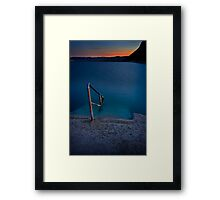 Merewether Ocean Baths Framed Print