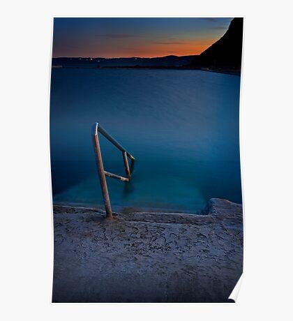 Merewether Ocean Baths Poster