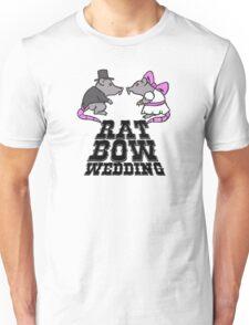 rat, wedding, bow Unisex T-Shirt