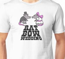 rat, wedding, bow T-Shirt