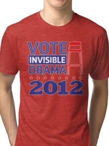 Invisible Obama Tri-blend T-Shirt