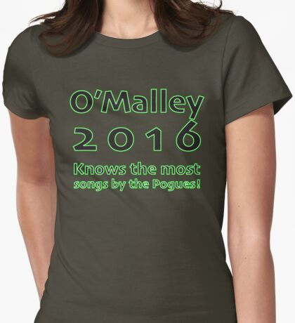 Martin O'Malley - 2016 Womens Fitted T-Shirt