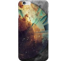 Galaxies Collide iPhone Case/Skin