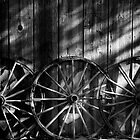 Three Wagon Wheels by homendn