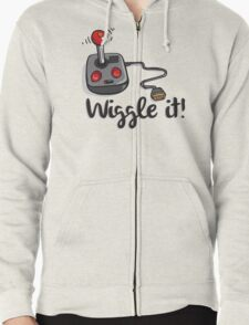 Old school gamer joystick - wiggle it! T-Shirt
