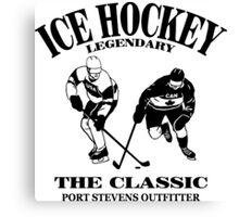 Hockey Canvas Print