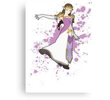Zelda - Super Smash Bros Canvas Print