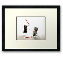 Darth Pepper Framed Print