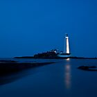 """St Marys Lighthouse"" by Allan  England"