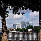 Canary Wharf, London by Lynn Bolt