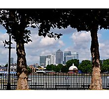 Canary Wharf, London Photographic Print