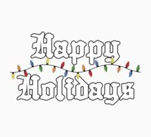 Happy Holidays Kids Clothes