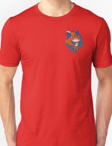 Cute Fox with Christmas Hat & Scarf T-Shirt